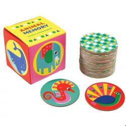 Jeux de mémoire animaux - 24 pièces