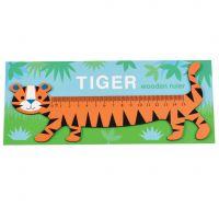 Règle en bois tigre