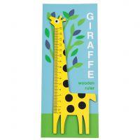 Règle en bois girafe