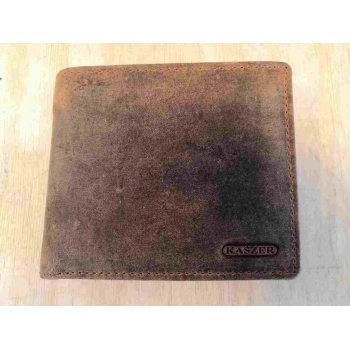 Portefeuille en cuir - Oregon - 10 x 12 cm