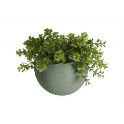 Pot à fleur mural Globe vert