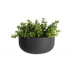 Pot à fleur mural Oval noir