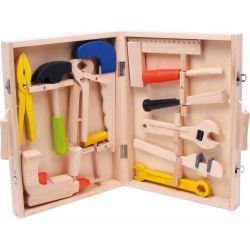 Coffre à outils en bois