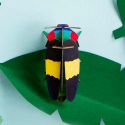 Petit insecte en 3D - Jewel beetle - Studio Roof