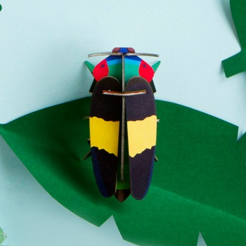 Petit insecte en 3D - Jewel beetle - Studio Roof