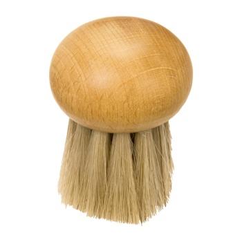 Brosse à champignon en bois sans manche