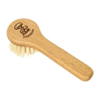 Brosse à champignon en bois avec manche