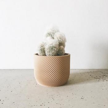 Cache-pot succulente Corde S- Made in France - Minimum Design