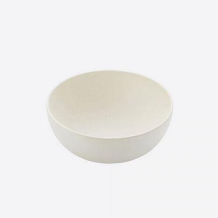 Bol en fibre de bambou Point virgule - Blanc cassé - 13.8 x 6 cm