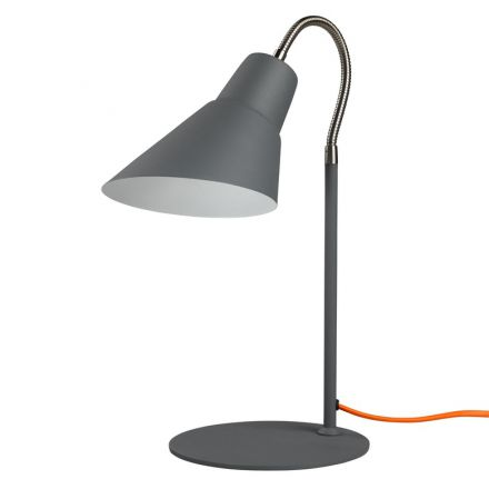 Lampe Gooseneck Grise Wild and Wolf