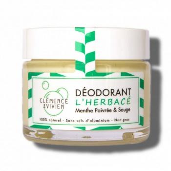 Déodorant naturel - L'herbacé Clémence et Vivien