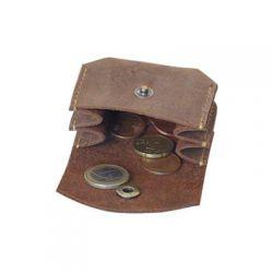 Petit porte monnaie en cuir - Oregon - 7 x 5 cm