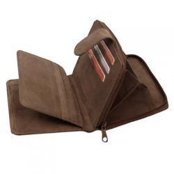 Porte feuille Oregon en cuir 14 X 9.5 cm