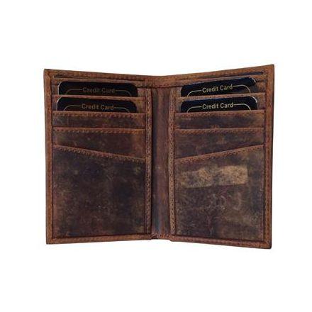 Porte cartes en cuir - Oregon - 11 x 8 cm