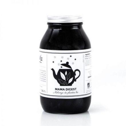 Mélange de plantes bio infusion - Mama Digestif - Pot en verre 80G