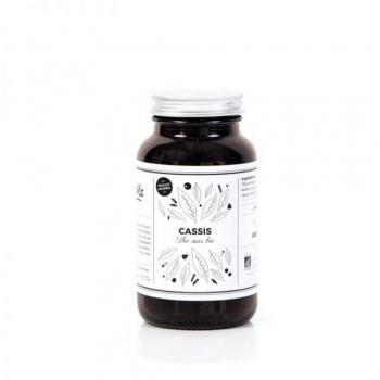 Thé noir bio - Cassis - Pot en verre 70G Greenma