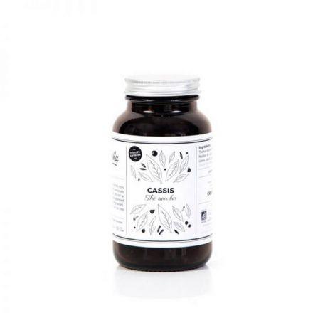 Thé noir bio - Cassis - Pot en verre 70G
