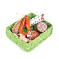 Caisse de charcuterie en bois Tender Leaf Toys