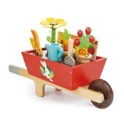 Set de jardinier avec brouette en bois Tender Leaf Toys