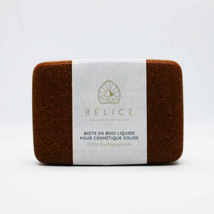 Boîte à savon et cosmétique solide biodégradable