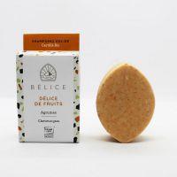 Shampoing solide bio Délice d'agrumes Cheveux gras Bélice