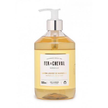 Savon liquide parfumé - 500 ml - Miel et amande