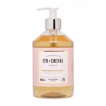 Savon liquide parfumé - 500 ml - Pétales de rose