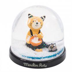 Boule à neige - Les Moustaches Moulin Roty