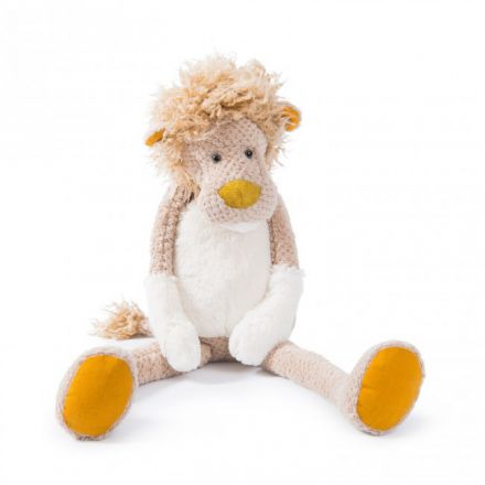 Peluche Grand lion - Les Baba Bou Moulin Roty