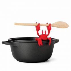 Porte cuillère et libérateur de vapeur - Red le crabe