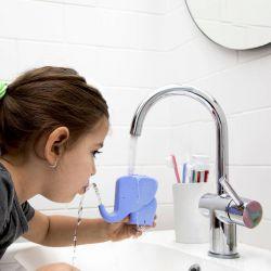Fontaine pour se brosser les dents Eléphant bleu