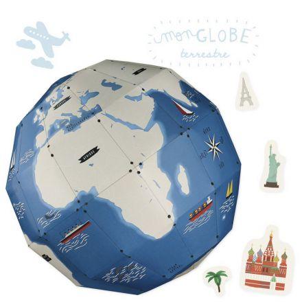 Mon globe terrestre Pirouette Cachouète
