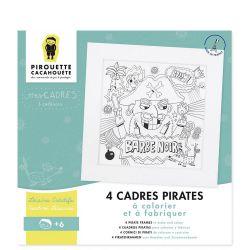 Mes cadres pirates Pirouette Cacahouète