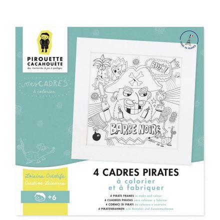 Mes cadres pirates Pirouette Cachouète