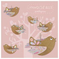 Mes oiseaux poétiques Pirouette Cacahouète