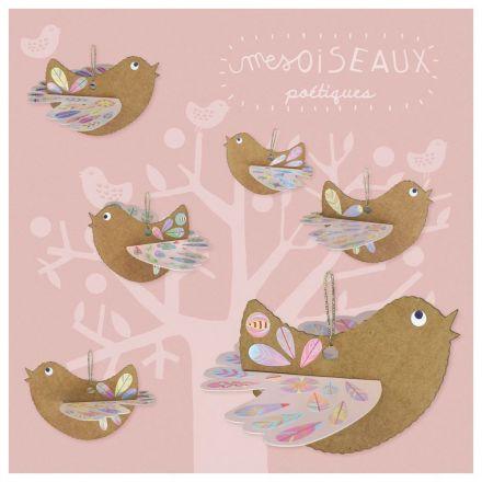 Mes oiseaux poétiques Pirouette Cachouète