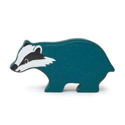 Petit blaireau en bois - Woodland Tender Leaf Toys