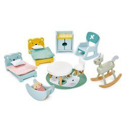 Set de meubles chambre d'enfant en bois Tender Leaf Toys