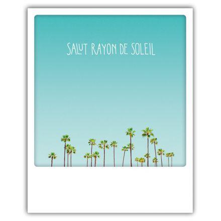 Carte pickmotion - Salut rayon de soleil