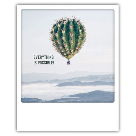 Carte pickmotion - Everything is possible