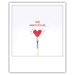 Carte pickmotion - Bon aniversaire coeur