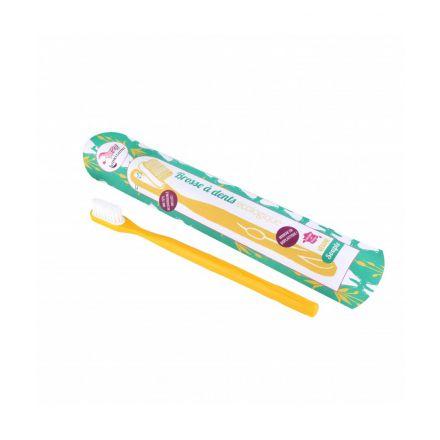 Brosse à dent rechargeable Méduim Jaune - Lamazuna