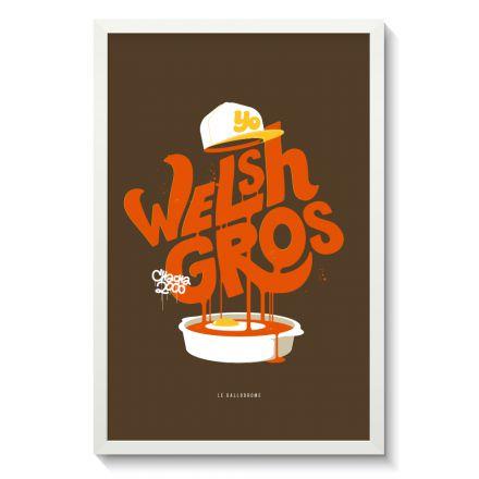 Affiche Gallodrome - Welsh gros