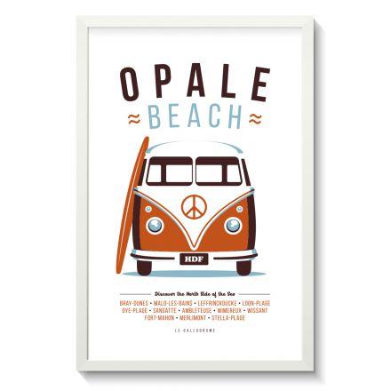 Affiche Gallodrome - Opale Beach - GAL03