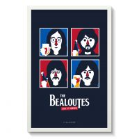 Affiche Gallodrome - The bealoutes let it beer - Gal04
