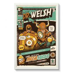 Affiche Gallodrome - Dr Welsh versus mega carbo - GAL09