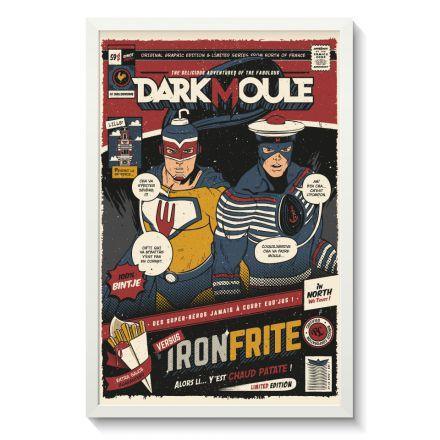 Affiche Gallodrome - Darkmoule versus Ironfrite - GAL11