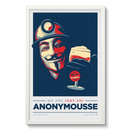 Affiche Gallodrome - Anonymousse - GAL14