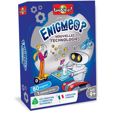 Enigmes? Nouvelles technologies - BIOVIVA
