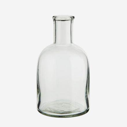 Petit vase bouteille en verre